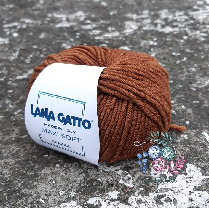 Lana Gatto MAXI SOFT (8948 карамель)