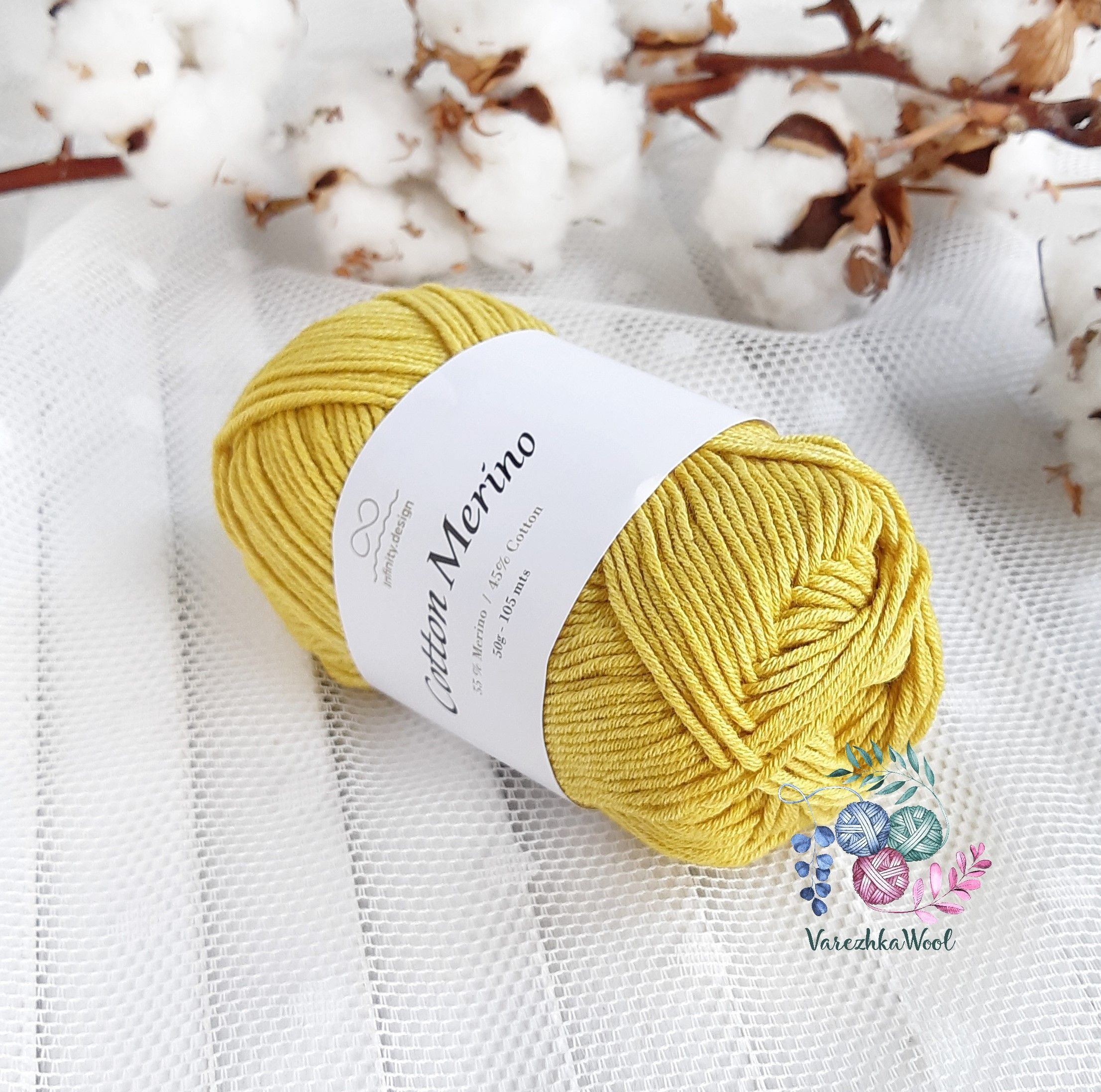 INFINITY Cotton Merino (2015 кукуруза)